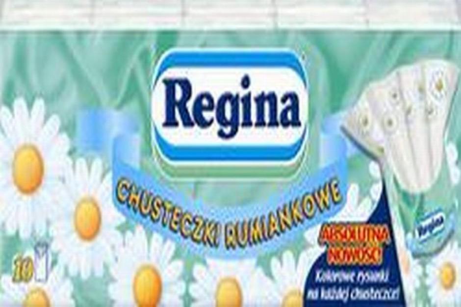 Chusteczki Regina z kolorowymi rysunkami
