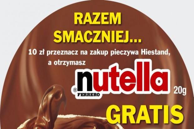 Wspólna promocja Nutella i Hiestand
