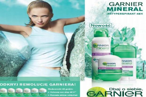 Garnier wprowadza nowy dezodorant