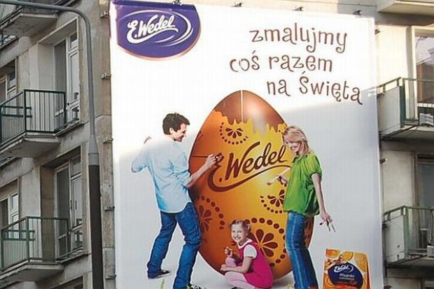 Wielkanocna kampania marki Wedel