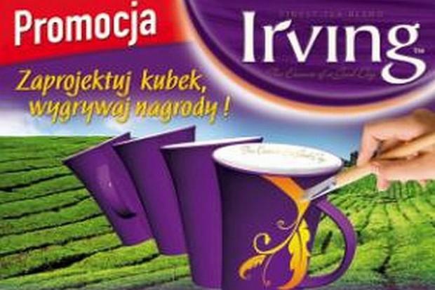 Herbaty Irving wsparte reklamą
