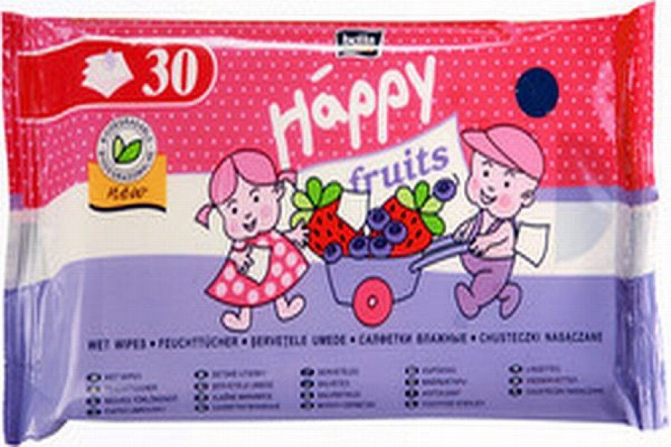 Owocowe chusteczki Happy Fruits