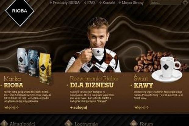 Makro stworzyło serwis dla kawy Rioba
