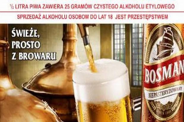 Bosman Niepasteryzowany - nowy wariant piwa w sprzedaży
