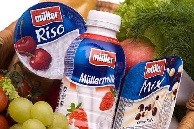 Müller rozdaje próbki produktów w pociągach