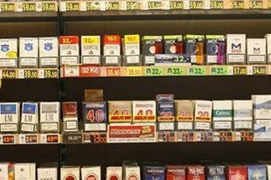 Wyższa akcyza na papierosy uderza w sprzedawców