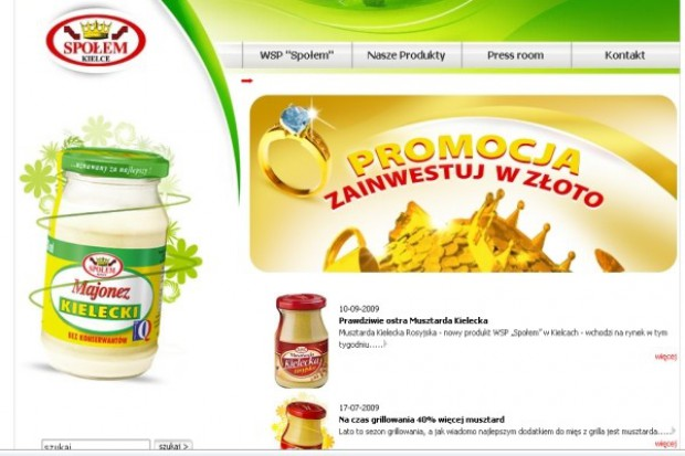 Kielecka spółdzielnia Społem będzie promować majonez