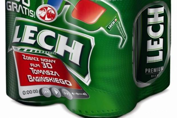 Kompania Piwowarska promuje Lecha w trójwymiarze
