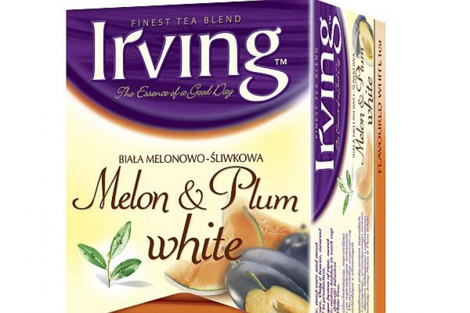 Biała herbata Irving z owocami
