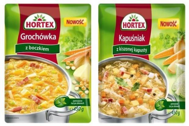 Hortex rozszerza linię zup