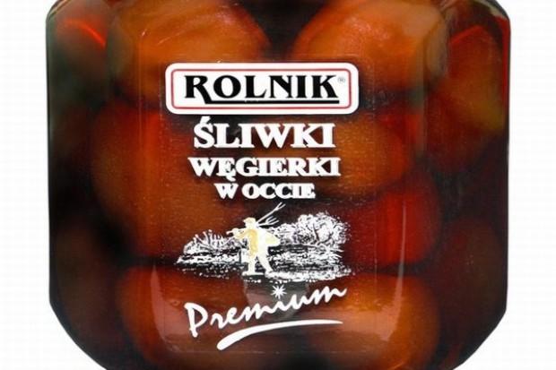 Marka Rolnik wzbogaciła się o śliwki w occie