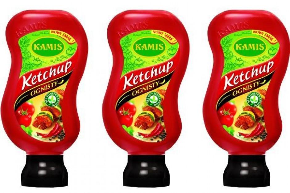 Kamis rozszerza ofertę ketchupów o smak Ognisty