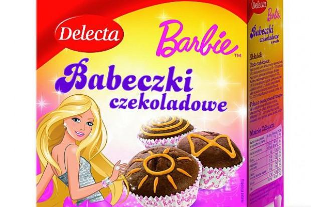 Delecta zareklamuje Babeczki Barbie