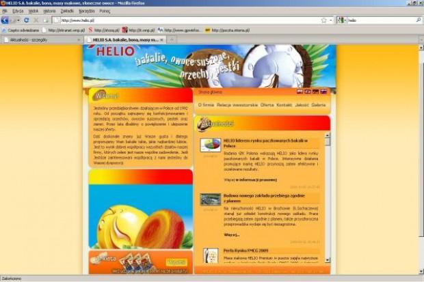 Helio reklamuje masę makową