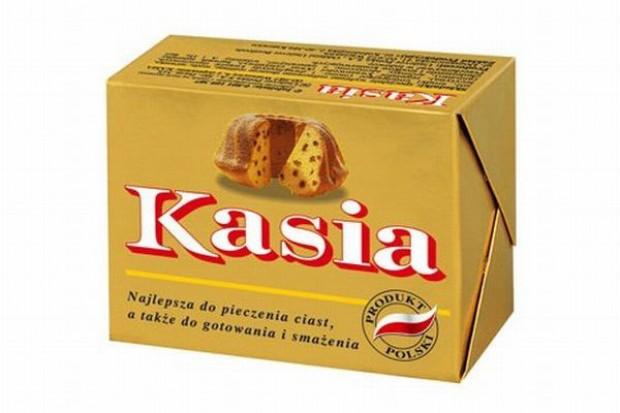 Kasia reklamuje się wspólnie ze sklepami Groszek
