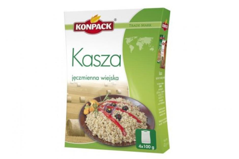 Firma Konpack poszerza linię FIT's Kaszę jęczmienną wiejską