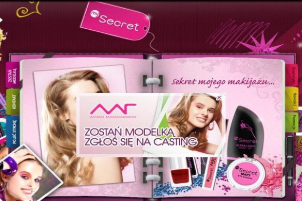 My Secret promuje się wśród nastolatek, szukając modelki