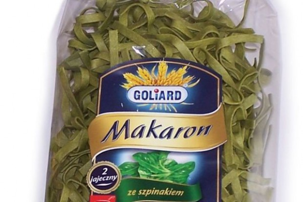 Goliard wprowadza nowe makarony