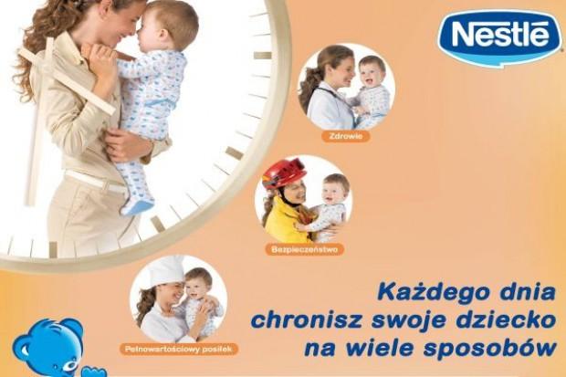 Wsparcie reklamowe dla nowych kaszek Nestle