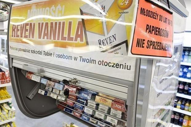 Ustawa antynikotynowa zaszkodzi sprzedawcom papierosów