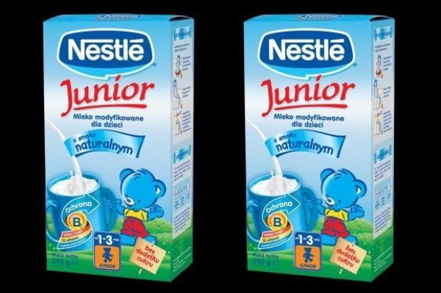 Nestlé reklamuje mleko Junior