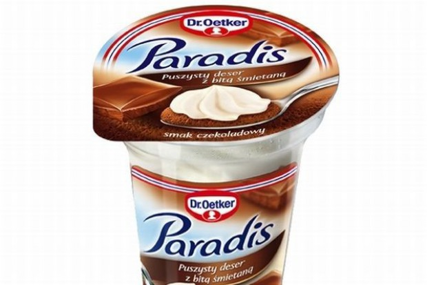 Paradis - deser z bitą śmietaną