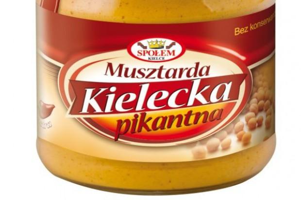 "Musztarda Kielecka Pikantna od WSP ""Społem"""