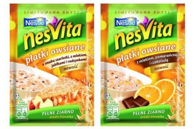 Nowe smaki płatków owsianych Nesvita