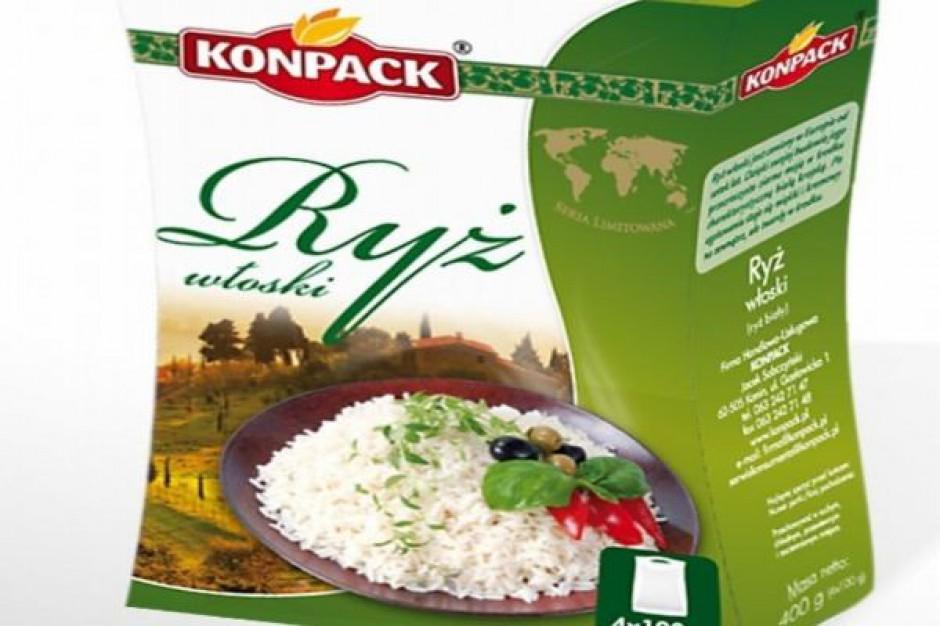 Ryż włoski firmy Konpack  - nowość w linii Fit`s