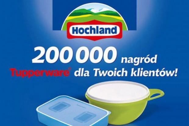 Hochland przeznaczył do promocji 200 tys. pojemników na żywność
