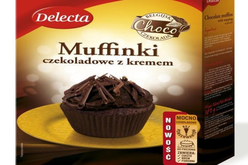 Ciasta z belgijską czekoladą od Delecty