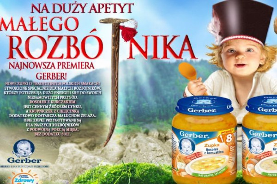 Nowe zupki Gerber
