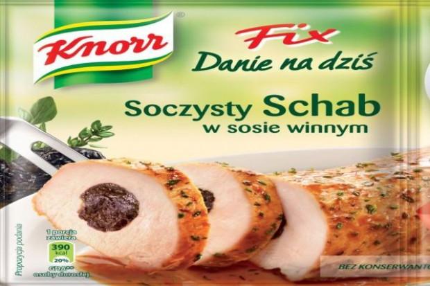 Fixy Knorr: Soczysty Schab w sosie winnym i Soczysty Kurczak po cygańsku