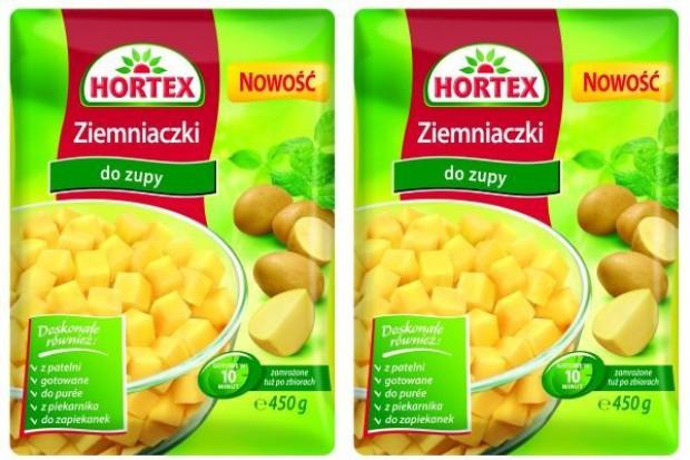 """Mrożone """"Ziemniaczki do zupy"""" od firmy Hortex"""