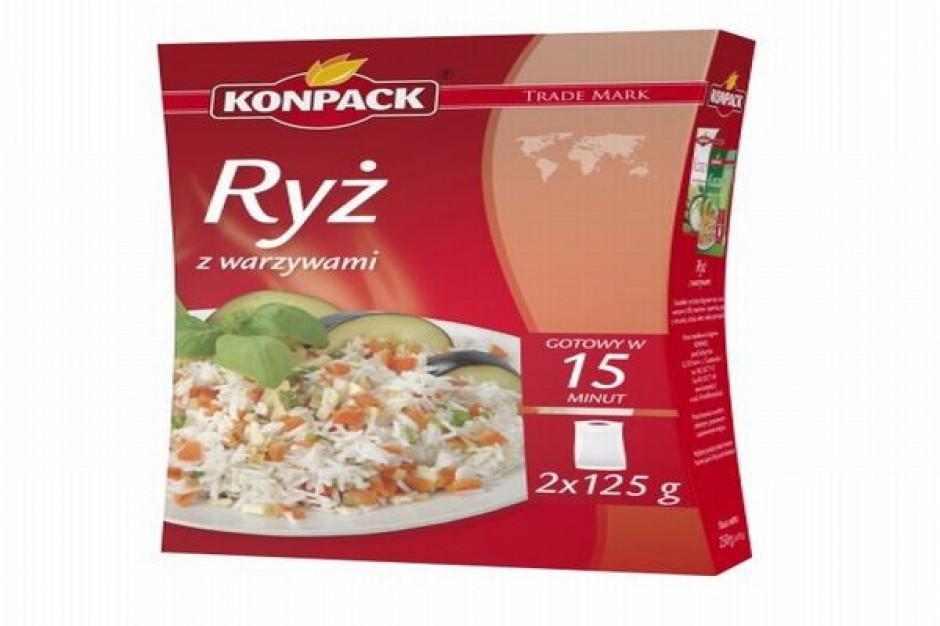 Ryż z warzywami Fit`s - nowość w ofercie Konpack