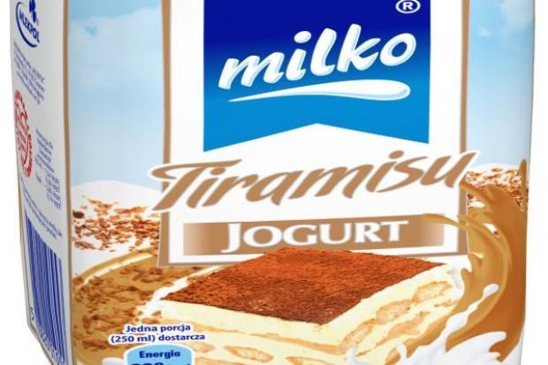 Jogurty pitne Milko w wersji deserowej