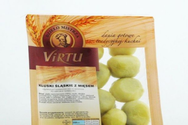 Kluski śląskie z mięsem- nowość od Virtu