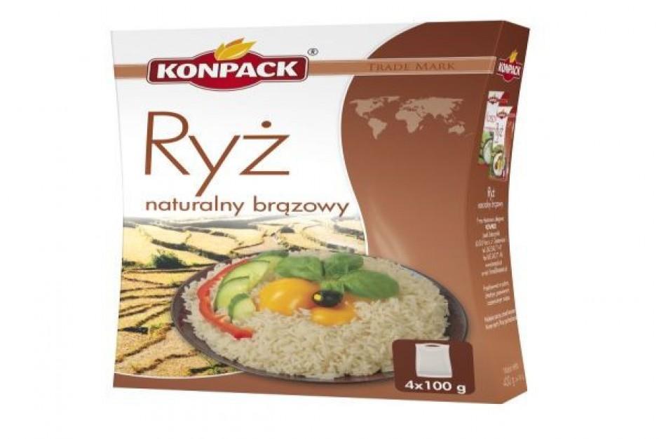 Ryż brązowy Fit's firmy Konpack