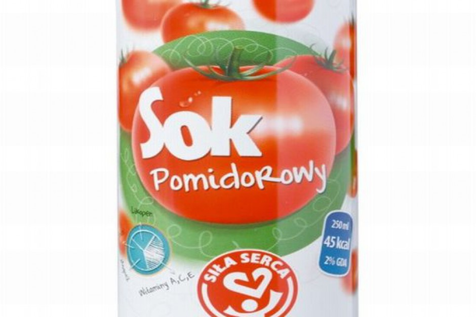 Sok pomidorowy Siła Serca od Dawtony