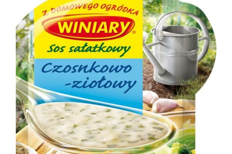 Marka Winiary proponuje sześć nowych sosów sałatkowych