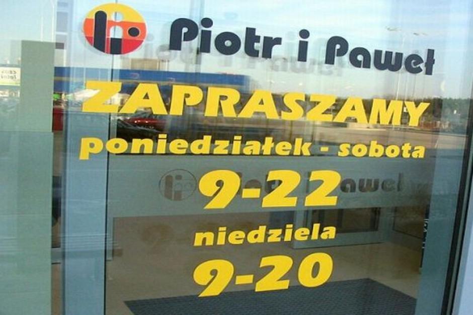 Rosną obroty Piotra i Pawła, w sieci już 72 sklepy