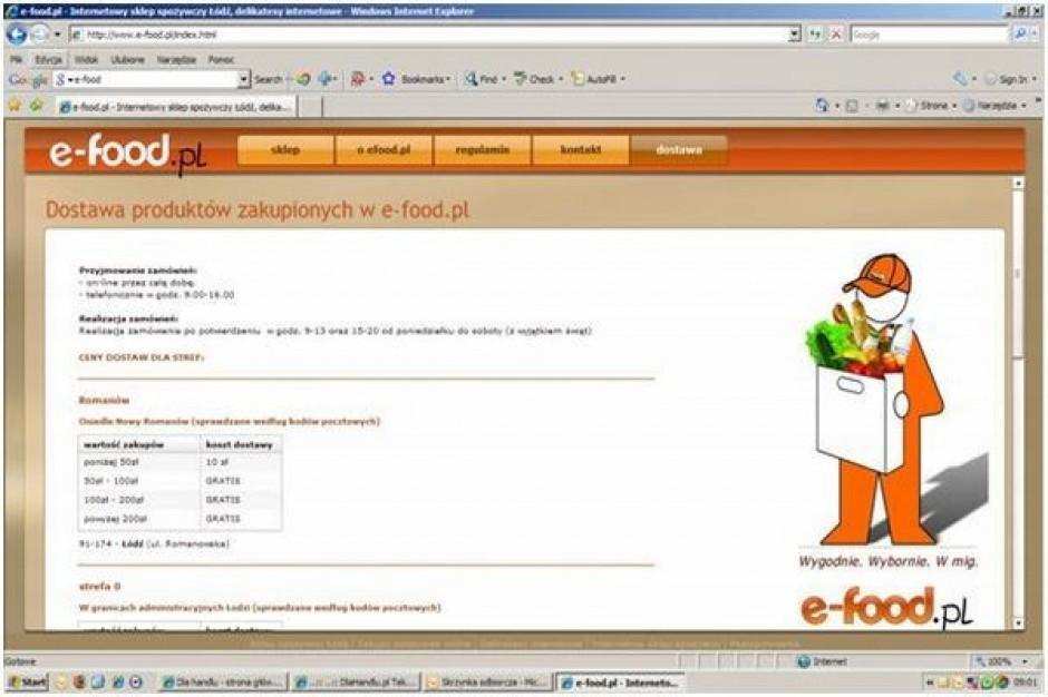Nowy właściciel e-food.pl chce otwierać sklepy franczyzowe
