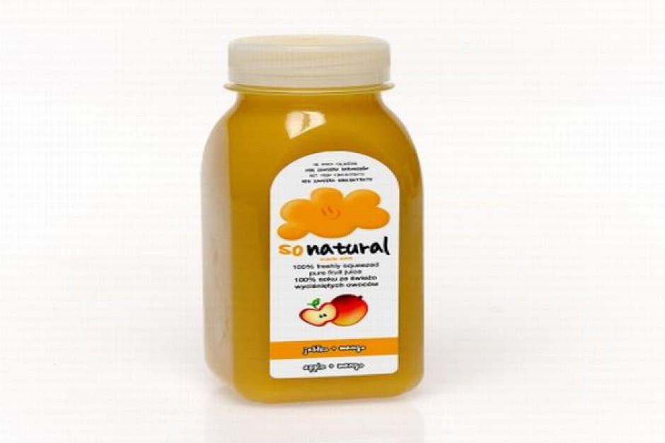 Sok Jabłko+Mango marki sonatural
