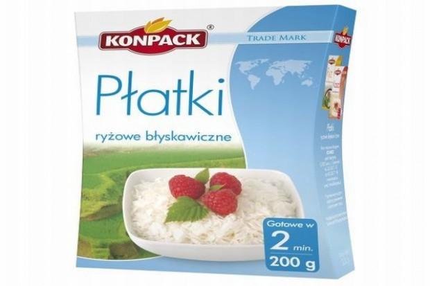 Płatki ryżowe błyskawiczne Fit`s od Konpacka