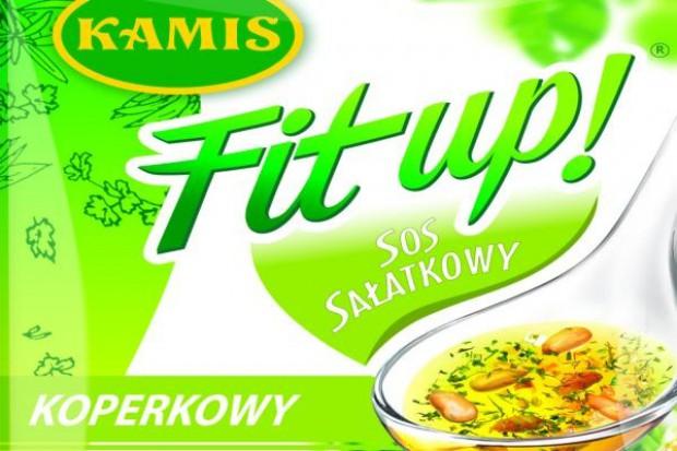 Odświeżone sosy sałatkowe Kamis Fit up!