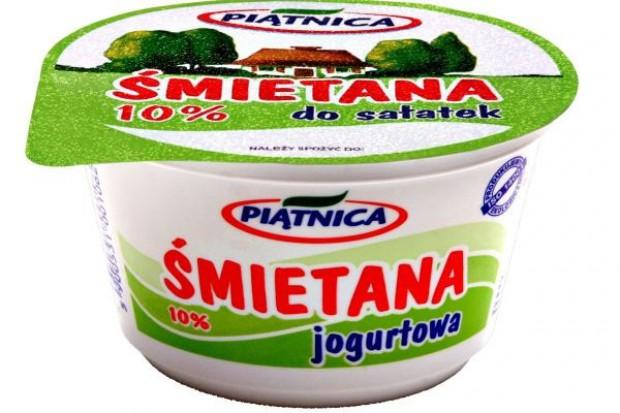 Jogurtowa śmietana od Piątnicy