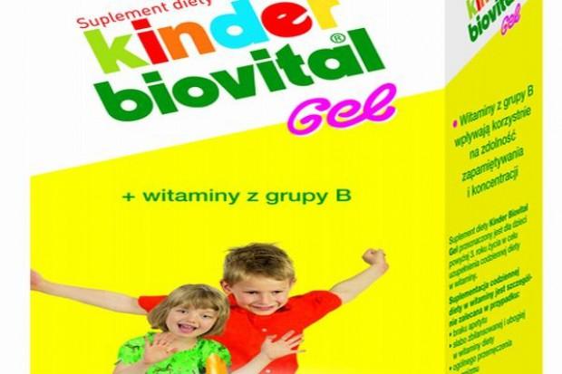 Kinder Biovital Gel - na zdolność zapamiętywania i koncentrację