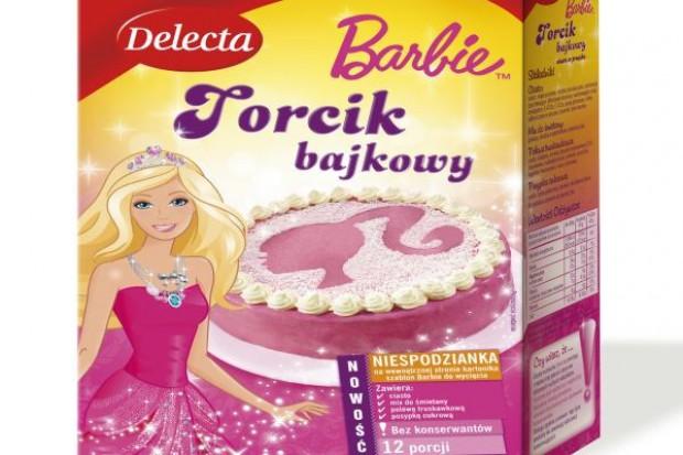 Różowe ciasta z Barbie od Delecty