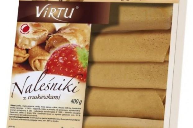 Naleśniki z truskawkami - nowość od Virtu
