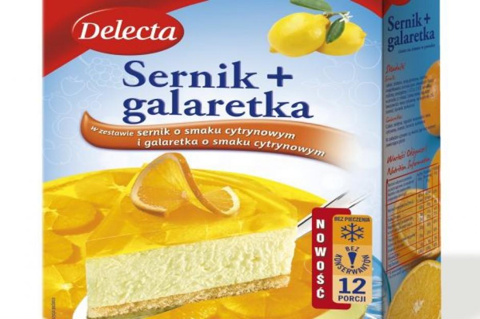 Sernik + galaretka w zestawie – nowość od Delecty